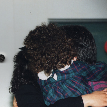 The Nikbin Family, reunited in Germany, 1999